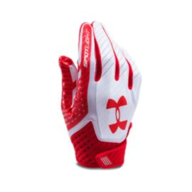 Under Armour Spotlight Men's Football Glove - Red/White