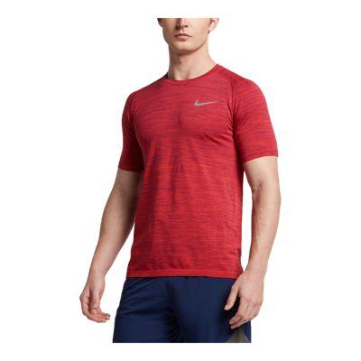Nike Men's Dri-FIT Knit Running Short Sleeve Shirt