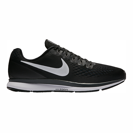 8d21922a7773 Nike Men s Air Zoom Pegasus 34 Running Shoes - Black White