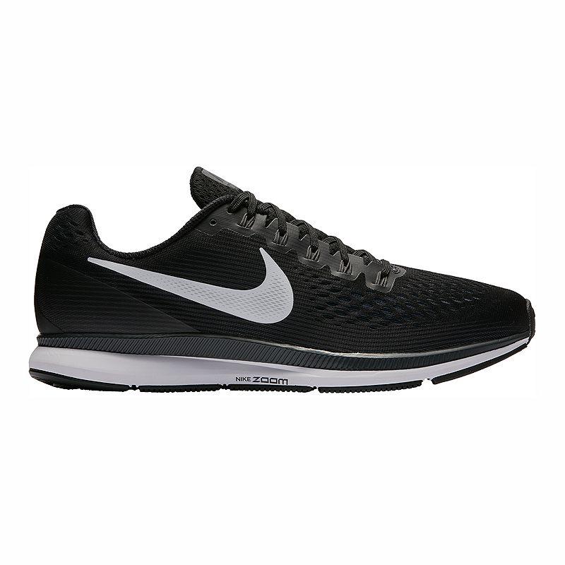 29d663516c8c Nike Men s Air Zoom Pegasus 34 Running Shoes - Black White (675911109137)  photo