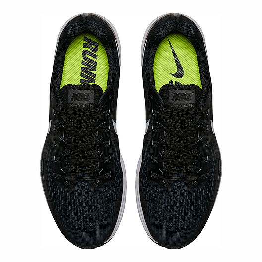 release date 217f7 11fef Nike Men s Air Zoom Pegasus 34 Running Shoes - Black White. (4). View  Description