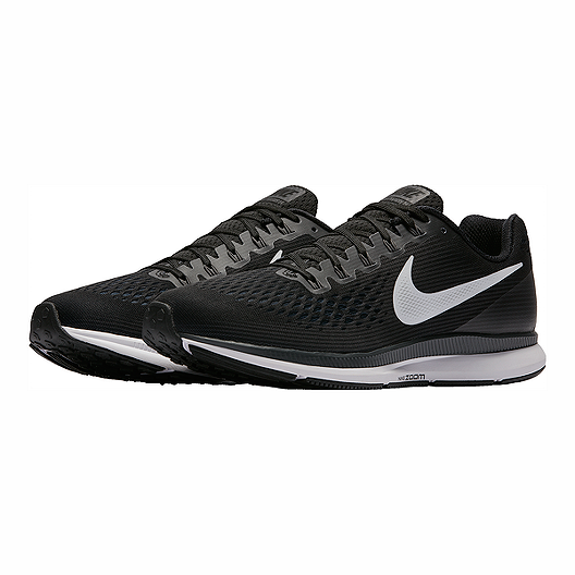 4f1caa3d432f Nike Men s Air Zoom Pegasus 34 Running Shoes - Black White. (4). View  Description