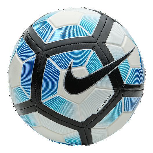 96b15f51e8b9 Nike Strike Size 5 Soccer Ball - Blue White
