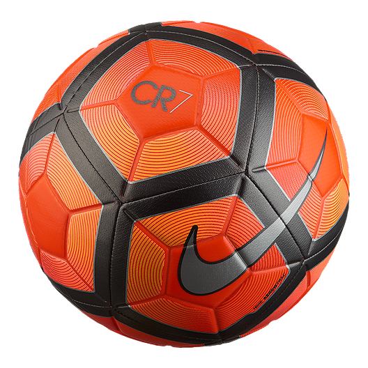 83dad3f5235550 Nike Cr7 Prestige Soccer Ball - Orange Black