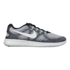 Nike Men's Free RN 2017 Running Shoes - Grey/Platinum