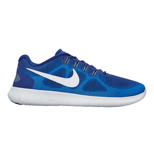 timeless design f4949 01157 Nike Men's Free RN 2017 Running Shoes - Royal Blue/White | Sport Chek