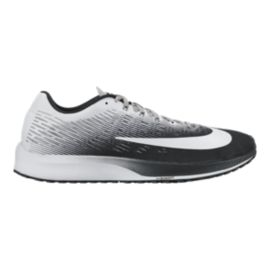Nike Men's Air Zoom Elite 9 Running Shoes - Black/White