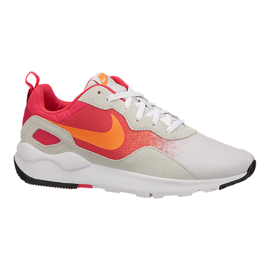 b55bf0d8838 Nike Women s LD Runner Shoes - White Red Orange