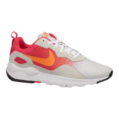 Nike Women's LD Runner  Shoes - White/Red/Orange