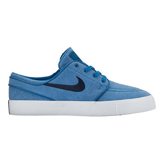 pretty nice 54328 ea414 Nike Men s Zoom Janoski (Canvas) Skate Shoes - Blue Obsidian   Sport Chek
