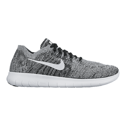 f2a02a48edf7 Nike Men s Free RN FlyKnit 2017 Running Shoes - Volt Green Pattern Black