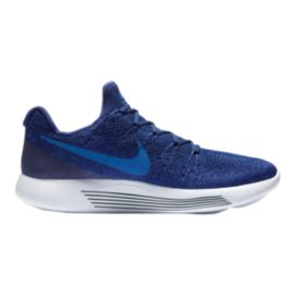 Nike Men's LunarEpic Low FlyKnit 2 Running Shoes - Royal Blue