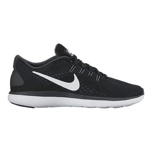 488546e8c13f4 Nike Men s Flex 2017 RN Running Shoes - Black White