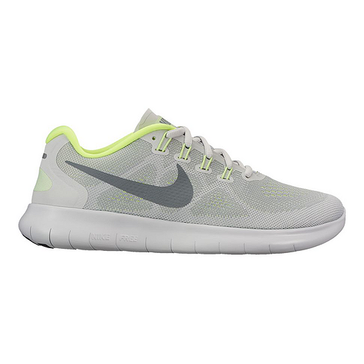 check out faac0 45fc1 Nike Women s Free RN 2017 Running Shoes - Wolf Grey Platinum   Sport Chek
