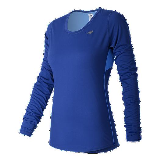8c21f93f New Balance Women's Accelerate Long Sleeve Shirt   Sport Chek