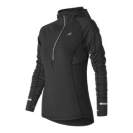 New Balance Heat Women's Hooded Half Zip Long Sleeve