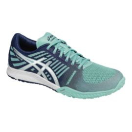 ASICS Women's fuzeX Training Shoes - Blue/White