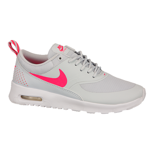718a5faf55 Nike Girls' Air Max Thea Grade-School Casual Shoes - Platinum/Pink/White |  Sport Chek