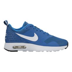 Nike Kids  Air Max Tavas Grade-School Casual Shoes - Blue White ... 972d1bb4a18