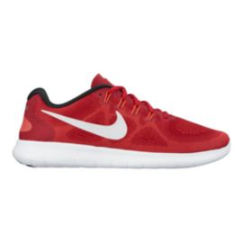 Nike Kids' Free RN 2 Grade School Running Shoes - Red/Black/White