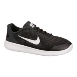 Nike Kids' Free Run 2 Grade School Running Shoes - Black/Grey/White