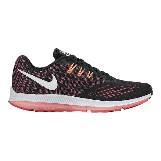 03d36c7bcdaa Nike Women s Zoom Winflo 4 Running Shoes - Black Pink