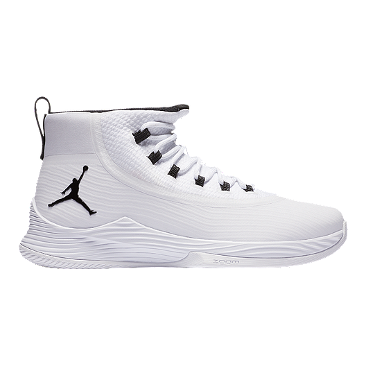 sale retailer 14064 e54a8 Nike Men's Jordan Ultra Fly 2 Basketball Shoes - White ...