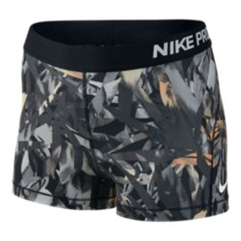 "Nike Women's Pro Cool 3"" Print Shorts"