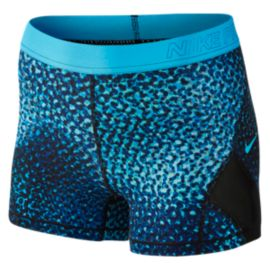Nike Women's Pro Hypercool 3 Inch Woven Kalidescope Allover Print Shorts
