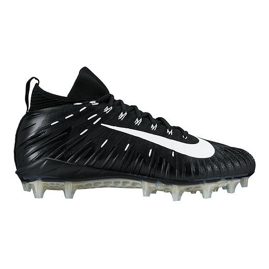 41c03798e Nike Men s Alpha Menace Pro Elite Mid Cut Football Cleats - Black Silver