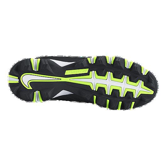 44aa2f9c8d Nike Kids' Alpha Menace Shark Grade School Football Cleats - Black/White