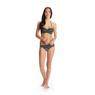 Roxy Women's Chevron Twisted Bandeau Bikini Top