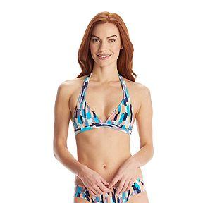 a0c2444362d59 Roxy Women's 70's Halter Bikini Top - Lola White