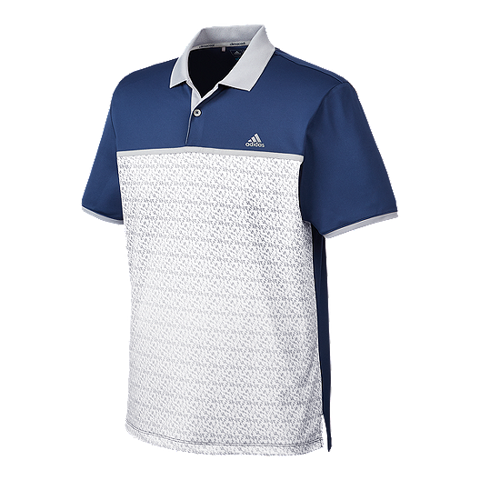 f57a3a9d adidas Golf Men's climacool® Gradient Chevron Print Polo   Sport Chek