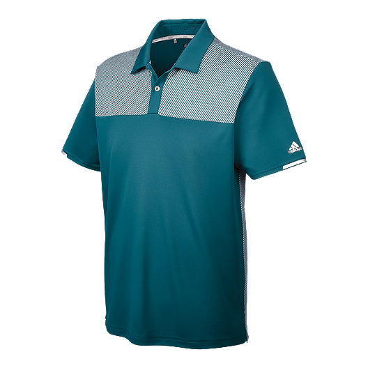 f5d3e716 adidas Golf Men's climachill™ Heather Block Competition Polo | Sport Chek