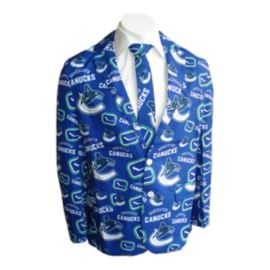 Vancouver Canucks Team Jacket And Tie
