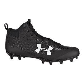 d5b2e99e1e4 Under Armour Men s Nitro Select Mid-Cut Football Cleats - Black