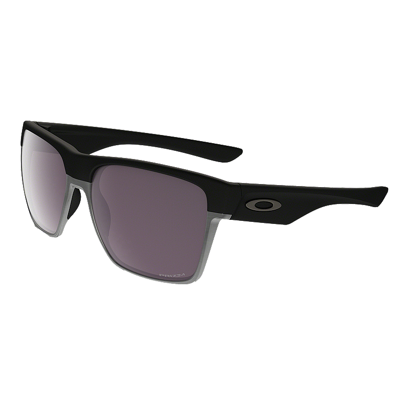 ac9997853f Oakley Two Face XL Polarized Sunglasses- Matte Black with Prizm Daily  Lenses