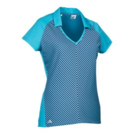 adidas Women's climachill™ Fashion Short Sleeve Polo