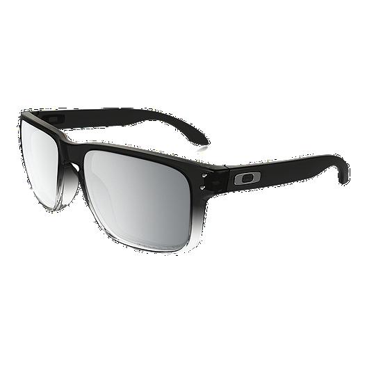 e4fc13285fbc6 Oakley Holbrook Polarized Sunglasses- Dark Ink Fade with Chrome Iridium  Lenses