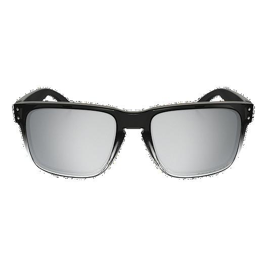 17c31cfc96b4c Oakley Holbrook Polarized Sunglasses- Dark Ink Fade with Chrome Iridium  Lenses