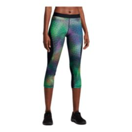Nike Women's Pro Hypercool Woven Kalidescope Capri Tights