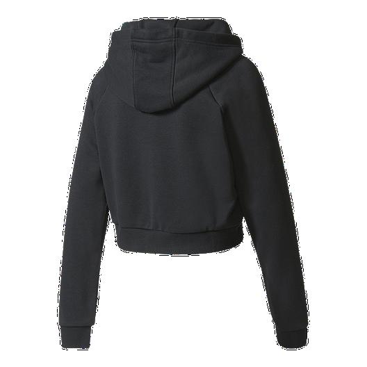 c6a69a6391 adidas Women's Originals Crop Pullover Hoodie | Sport Chek
