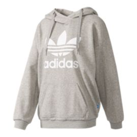 adidas Women's Originals Trefoil Pull Over Hoodie
