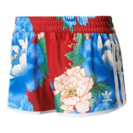 adidas Women's Originals Farm Chita All Over Print Shorts