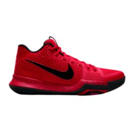 "Nike Men's Kyrie 3 ""Candy Apple"" Basketball Shoes - Red"