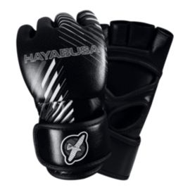 Hayabusa Ikusa Charged 4 Oz. MMA Gloves - Black/Grey