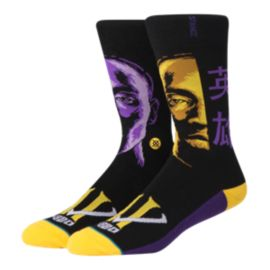 Stance Men's NBA Kobe Faces Crew Socks