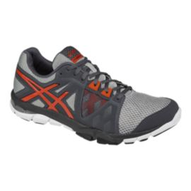 ASICS Men's Gel Craze TR 3 Training Shoes - Grey/Orange