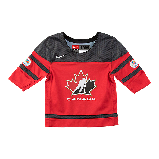 the best attitude a9fff d5b72 Team Canada Baby Replica Hockey Jersey
